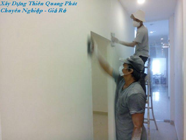 Thợ sơn sửa nhà tại quận gò vấp