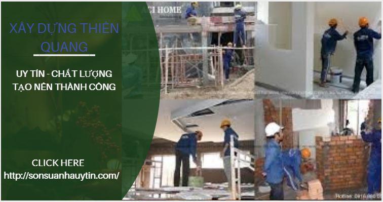 Thợ sơn sửa nhà tại quận tân phú - Dịch vụ sửa chữa nhà