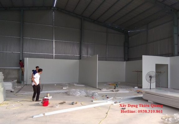 Thi công lợp mái tôn tại Biên Hòa